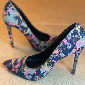 """Denim 4"""" Women's Heels"""